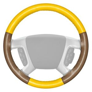 For Chevy Corvette 16 Steering Wheel Cover Eurotone Two color Yellow Steering