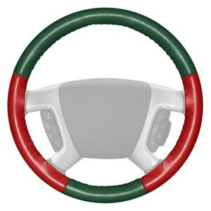For Toyota Mirai 17 Steering Wheel Cover Eurotone Two color Green Steering Wheel