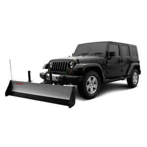 For Jeep Wrangler 1987 1995 Snowsport 80660 40163 Hd Utility Plow 84 Blade
