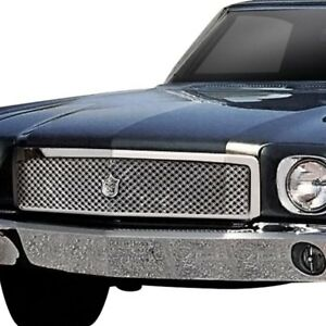 For Chevy Monte Carlo 70 71 Main Grille 1 Pc Luxury Series Chrome Dual Weave