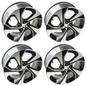 Set Of Four 17 Inch Z Spec Alloy Wheels Rims Silver For 2013 2017 Chevy Sonic