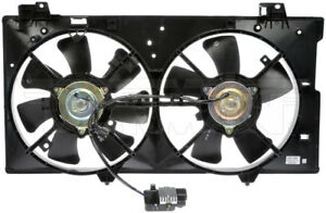 Engine Cooling Fan Assembly Fits 08 09 Chevrolet Pontiac Equinox Torrent