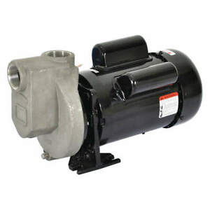 Dayton Self Priming Pump 1 2 Hp 316 Ss 5wxu3