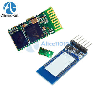 Hc 05 Wireless Serial 6 Pin Bluetooth Rf Transceiver Module Rs232 With Backplane
