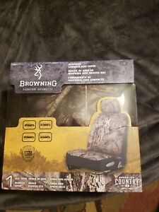 Browning Camo Bucket Seat Cover Mossy Oak Break Up Country Universal Fit
