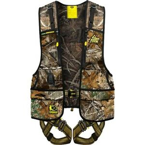 Hss Pro r l xl X8 Realtree Xtra Hunting Treestand Safety Harness Vest
