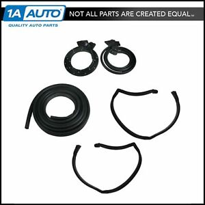 Basic Replacement Rubber Weatherstrip Seals Kit Set For 78 81 Malibu 2 Door