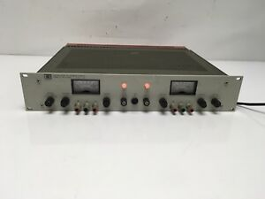 Hp 6253a Dual Dc Power Supply 0 20v 0 3a Load Tested