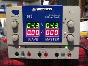 Bk Precision 1673 Triple Output Dc Power Supply