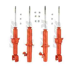Kyb 4 Agx Struts Shocks Honda Civic 92 93 94 95 741005 741006 741007