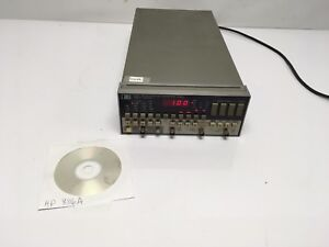 Hp 8116a Pulse Function Generator 50mhz W Hpib Option 001 Tested