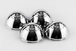 Set 4 American Racing Aftermarket Wheel Center Hub Caps Chrome Custom 1278100000