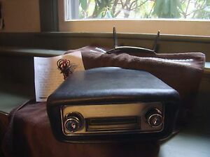 Vintage Ford 8 Track Tape Player With Bracket 1968 Ford