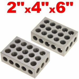 Precision Pair Mill 2 4 6 246 Block Set Machinist Tool