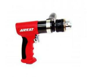 Florida Pneumatic aircat Drill 1 2in Rev Drill Red Composite