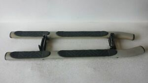 Pair Of Running Boards With Hardware 2002 2003 Nissan Xterra