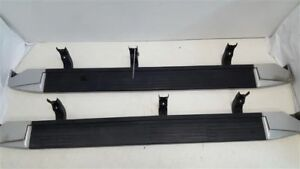 Pair Of Running Boards With Hardware Fits 2004 Infiniti Qx56 R294762