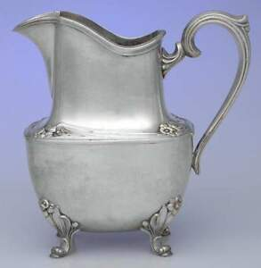 International Daffodil Silverplate Water Pitcher 1943777