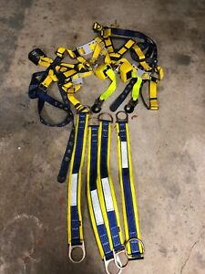 Two Dbi Sala Vest Harness Climbing Safety With Extras