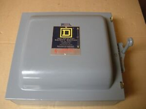 Square D Double Throw Safety Switch 82252
