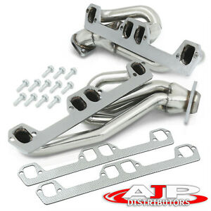 Stainless Steel Racing Exhaust Manifold Header For 1994 2002 Dodge Ram 5 2 5 9l