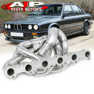 T3 T4 Stainless Steel Turbo Manifold I6 For 1988 1991 Bmw E30 325i 325is 325ix