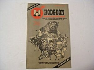 VINTAGE 1983 HODGDON BASIC RELOADING DATA GUN MANUAL ~ SEE ALL OUR MANUALS