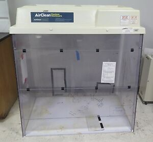 Airclean Systems Custom Enclosure Workstation Fume Hood Model Ac215tte