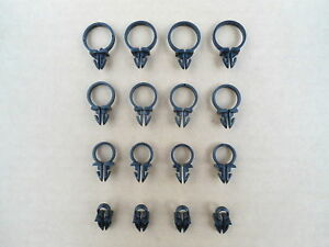 16 New Wire Loom Routing Retainers 4 Sizes All Gm Gmc 1950 S 1960 S 529 14z