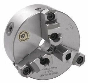 8 Bison 3 Jaw Lathe Chuck Direct Mount D1 6 Spindle