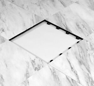 Portable Event Flooring 9 x9 White Marble Style