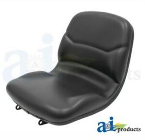 John Deere Compact Tractor Seat Black For 670 770 790 870 970 990 1070 3005 4005