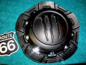 M Custom Suv Monster Energy Drink Wheel Center Cap Matte Black Finish 6032k88