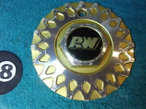 Rota Rw 7 5 16 Aluminum Gold Custom Honeycomb Mesh Rim Wheel Center Cap Hub Bmw