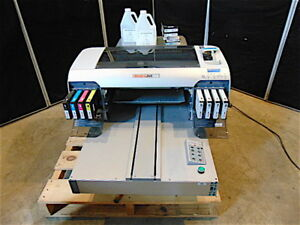 Melcojet G2 Directto Garment Textile Printer came From Working Environment s3328