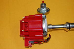 Ford 351w Windsor Sbf Hei Distributor Coil Red Electronic Small Block Ford