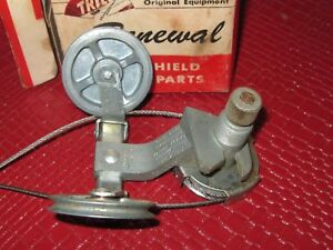 Nos 1958 Mercury Windshield Wiper Post And Linkage Passenger Side