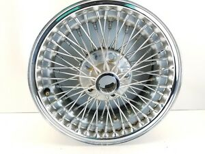 Authentic Dayton Wire Wheel Chrome 15 X 7 60 Spoke 6902 Jaguar