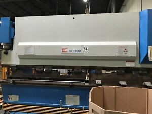 100 ton Knuth Hat3530 Hydraulic Press brake shear Combo 12 Bed Length