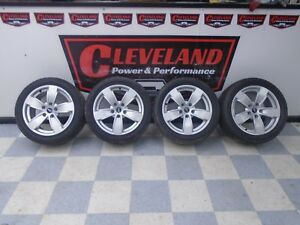 04 06 Pontiac Gto Oem 17 Rim Wheels W Sumitomo Tires Without Clearcoat Finish