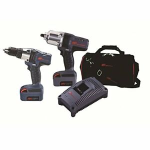 Ingersoll Rand Company Combo Cordless 1 2in Impact 1 2in Drill