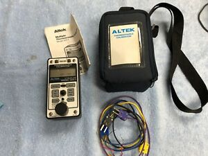 Altek 322 1 Multiple Thermocouple Calibrator J T E K Mv W Case And Wires