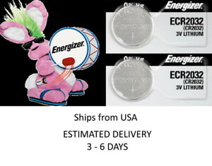 2 Pk Remote Key Fob Smart Keyfob Energizer Battery Cr2032 Fits Toyota