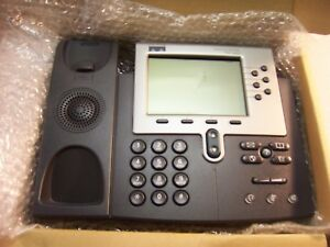 T232 New Cisco 7940 Series Unified Ip Voip Phone Cp 7940g