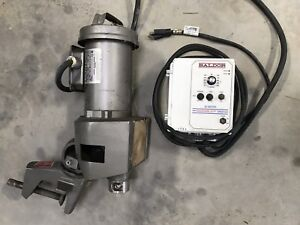 Lightnin 65 Hp Mixer W Wash Down Baldor Variable Speed Drive