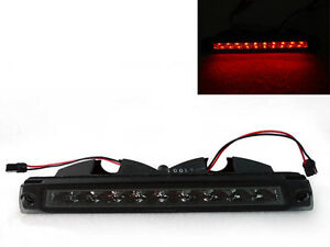 Smoked No Error Led 3rd Third Brake Light Dot Sae For 1987 1993 Ford Mustang Gt