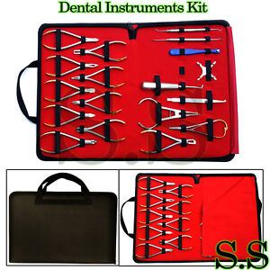 18 Pcs Basic Orthodontics Dental Instruments Set Composite Kit Premium Dn 2123
