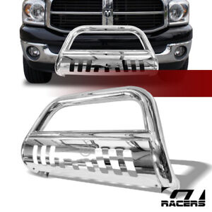 For 2006 2008 Dodge Ram 1500 2006 2009 2500 Chrome Bull Bar Bumper Grille Guard