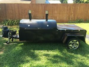 Homemade Custom Bbq Grille Smoker