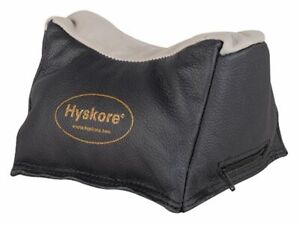 Hyskore Leather Rest Bag - Utility BlackOD Green 30172 Shooting Rest Bag